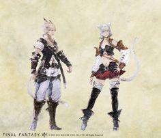 ファイナルファンタジーXIV-Final Fantasy XIV-2.0 Concept Art
