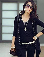 Women's Fashion Slim Cardigan Knit Coat – USD $ 11.04