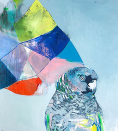 She Thought of Colour and Birds by Miranda Skoczek