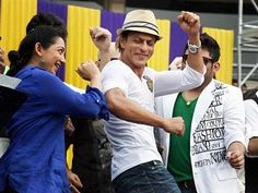 Bollywood superstar and Kolkata Knight Riders owner Shah Rukh Khan has bought Caribbean Premier League team Trinidad & Tobago, joining Hollywood biggies Mark. Premier League Teams, Indian Movies, Trinidad And Tobago, Superstar, Caribbean, Bollywood, Celebs, Entertaining, Box Office