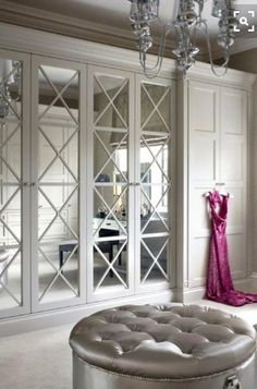Elegante armadio in stile inglese laccato bianco Made in Italy