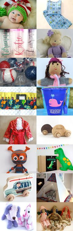 Gift Ideas for Children by Delia on Etsy--Pinned+with+TreasuryPin.com