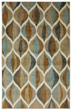 Mohawk Home Ornamental Ogee Area Rug, 96 by 120-Inch, Multicolored American Rug by Mohawk http://www.amazon.com/dp/B00BIHHQ7O/ref=cm_sw_r_pi_dp_dCI-tb00DHT3X