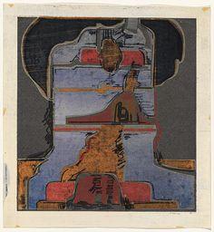 Jan SENBERGS   Tower, 1966   Screenprint