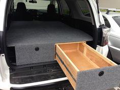 Post pics of your drawer/storage Car Camper, Camper Trailers, Camper Van, Astro Van, 4 Runner, Truck Camping, Drawer Storage, Toyota 4runner, My Ride