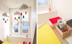 Changing station - nursery - cloud mobile