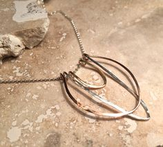 Beautiful, handmade pendant made with sterling silver or 14k gold filled.