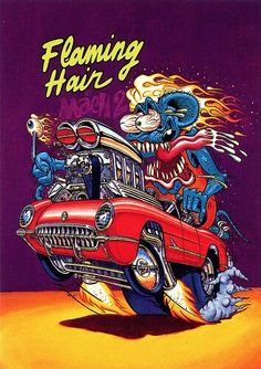 Ed Roth's Flaming Hair Mach 2