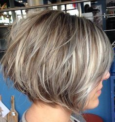 Layered bobs, Hairstyles 2015 short and Bob hairstyles on Pinterest