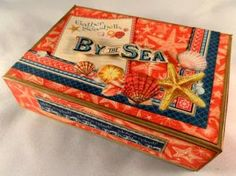 Crafting hints, tips and tutorials: By the Sea Book in a Box