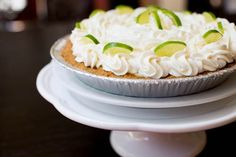 Frozen Key Lime Pie // @Stephanie Hua {Lick My Spoon}     The Best Thing to Make on a Hot Summer Day :)