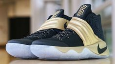 Nike Kyrie 2 Navy/Gold Finals PE (2)
