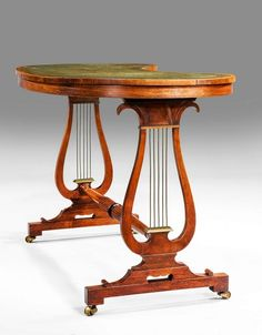 George III period writing table (ref no. 800) - Windsor House Antiques.(photo1of2)