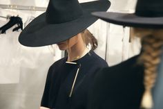 hats, fashionista, dressed in black, witches