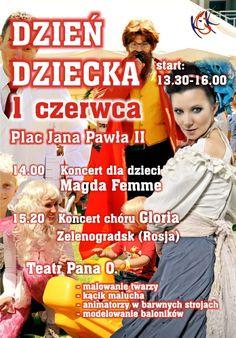 """""""DZIEŃ DZIECKA"""", 1.06.2014 r., Plac Jana Pawła II"""