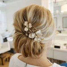 A textured, romantic updo for this beautiful bride-to-be . #theblowoutbar #updo #upstyle #romantic #modernsalon #behindthechair #beyondtheponytail #wedding #weddingseason #weddinghairstyle #bridalhair #elegant #hair #bridesmaid #bridebook #picoftheday #aseenincolumbus #updoideas #instabraid #ighair #hairinspo #hairinspiration #blondebombshell #hairspiration