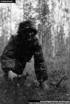 Man of the 6th SS Mountain Division Nord after the 1944 Norwind Offensive.