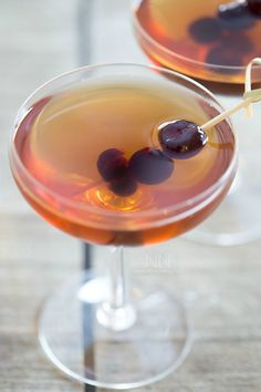 This classic Manhattan Cocktail can be ready in under 5 minutes and only takes a few simple ingredients.