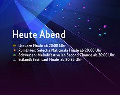 Heute Abend: Drei Finale und eine Second Chance Runde - http://www.eurovision-austria.com/heute-abend-drei-finale-und-eine-second-chance-runde/
