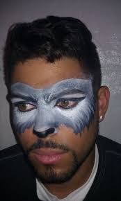 Image result for wolf face paint