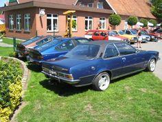 Treffen bij de Monza Guhru met Opel Commodore B coupe 24v