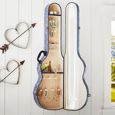 great inspiration for a DIY project! Junk Gypsy Sweetheart of the Rodeo Denim Paisley Jewelry Holder   PBteen