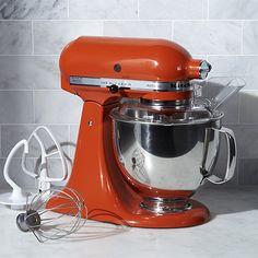 Kitchenaid Artisan Persimmon Stand Mixer Crate And Barrel Kitchen Aid Kitchenaid Artisan Kitchenaid Artisan Stand Mixer