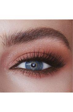 Peachy Eyeshadow, Smoky Eyeshadow, Simple Eyeshadow, Eyeshadow Looks, Eye Palette, Makeup Palette, Eyeshadow Palette, Makeup Looks Blue Eyes, Makeup For Brown Eyes