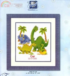 Dinosaur Birth Announcement