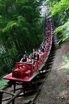 #Europe's longest #rollercoaster @Lightwater Valley #lightwater