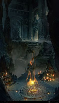 Nuro the flames of the catacombs by ~NURO-art on deviantART