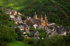 I want to go to there. Conques, France