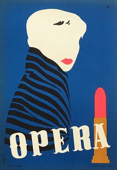 The opera :: a place not just for brilliant notes, but brilliant fashion! Retro Advertising, Vintage Advertisements, Vintage Posters, Vintage Art, Vintage Beauty, Modern Tapestries, Poster Design Inspiration, Learn Art, Needlepoint Kits