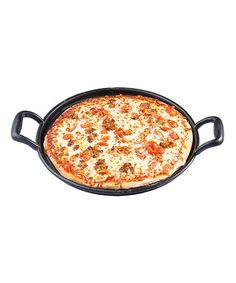 Look what I found on #zulily! Cast-Iron Pizza Pan #zulilyfinds