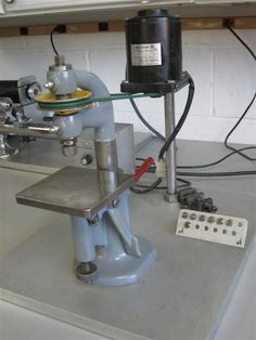 Schaublin sensitive drill press with collets