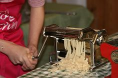 A children's fresh pasta workshop at Delights of Italy in Wokingham