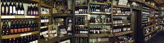 Panorámica tienda zona vinos