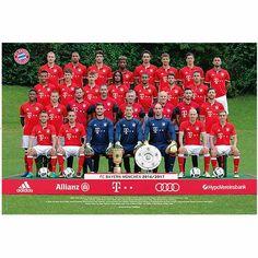 FC Bayern München Poster Team 2016/2017