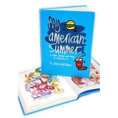 Jon Burgerman - My American Summer