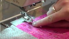 Youtube:  101 Patchwork Projects:  Pojagi Seam Technique