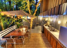 Fairy lights really create an amazing atmosphere in your outdoor space – they're also easy to pick up from Bunnings or Kmart!