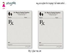 doctor prescription pad
