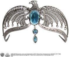 Buy Harry Potter Ravenclaw´s Diadem - Noble Collection - Replicas: Harry Potter - Secure shipping in the USA and worldwide with Harry Potter Film, Harry Potter Schmuck, Bijoux Harry Potter, Mode Harry Potter, Deco Harry Potter, Images Harry Potter, Harry Potter Merchandise, Harry Potter Shirts, Dream Wedding