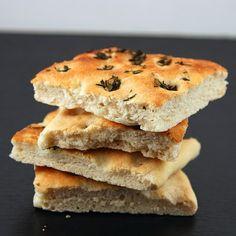 garlic and herb foccascia bread