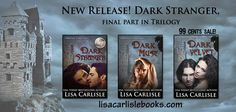 ***** SALE ***** To celebrate the release of Dark Stranger, the last part of the Chateau Seductions trilogy, Dark Velvet is on sale for 99 cents for a limited time! http://amzn.to/1buKiau Read more about the series here: http://www.lisacarlislebooks.com/books/chateau-seductions-series/