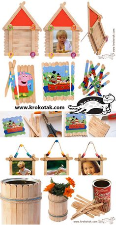 Looks like neat ideas for stick crafts