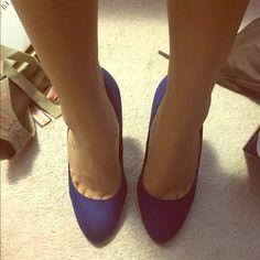 Rock & Republic Royal blue pumps Cute blue pumps. Only worn twice. Rock & Republic Shoes Heels