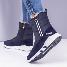 Cizme de iarna albastre Spedali ZXT4 Puma Fierce, High Tops, High Top Sneakers, Casual, Shoes, Fashion, Moda, Zapatos, Shoes Outlet
