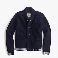 Boys' cotton bomber jacket