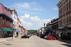 Aurora, Indiana - Photo of 2nd Street